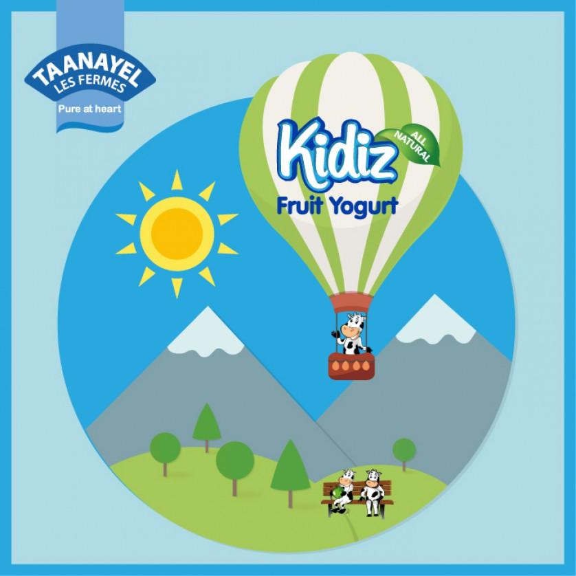 Kidiz in the mountains